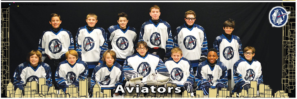 Aviators Pee Wee A Major - smiling