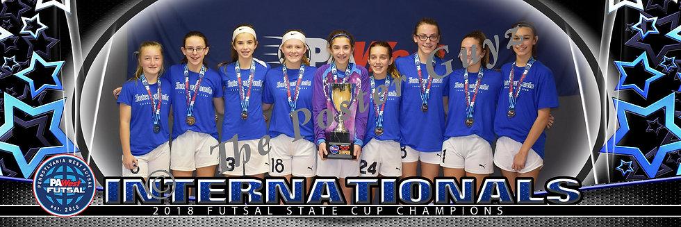 Internationals u14 Champions