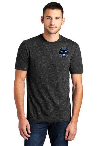 SCS-Men's District Medal Shirt-Left Chest Logo