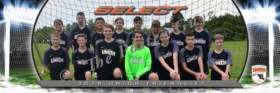 Baltimore Union SC Select 05 BU12