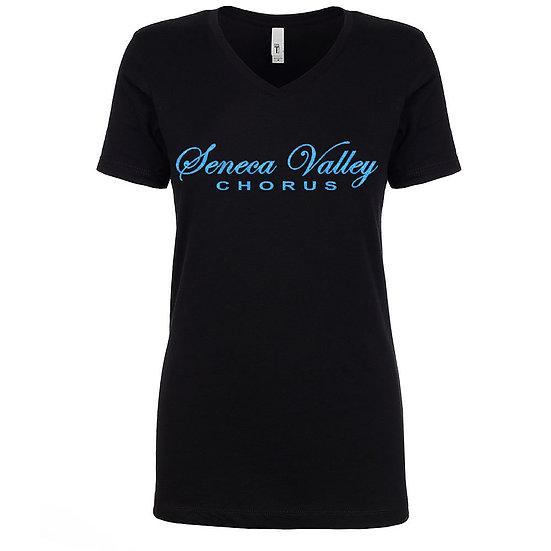 SVChorus-Ladies V-neck short sleeved shirt