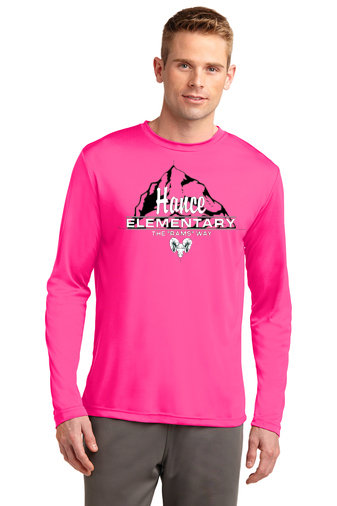 Hance-Pink Long Sleeve Dri Fit