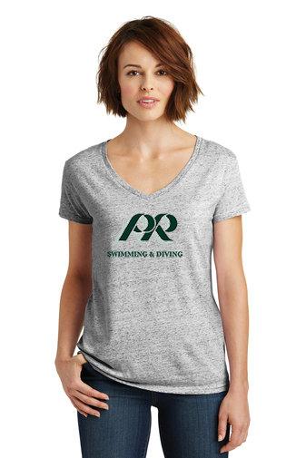 PRS&D-Women's District V-Neck Shirt