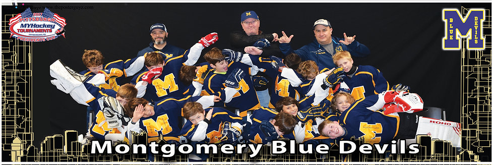 Montgomery Blue Devils Squirt A - Funny
