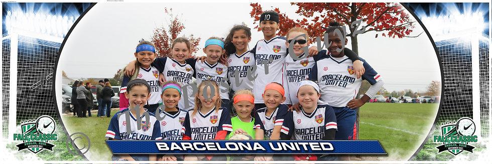 Barcelona United Pre-Academy 07G Girls U11