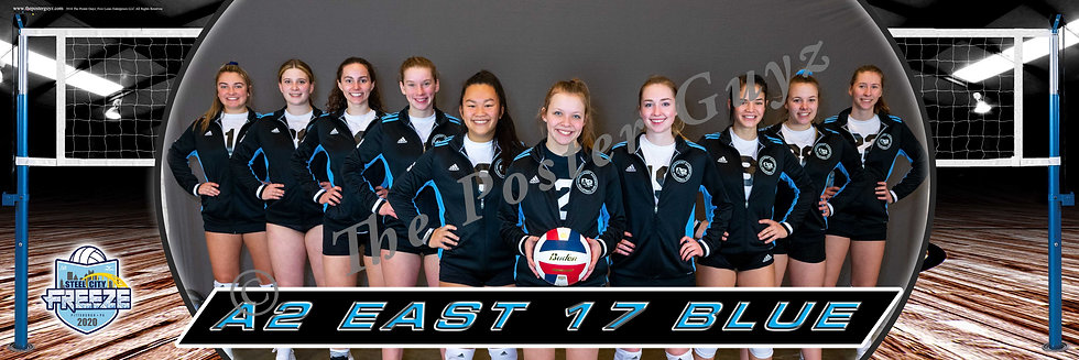 A2 East 17 Blue (OV) - 17 Club