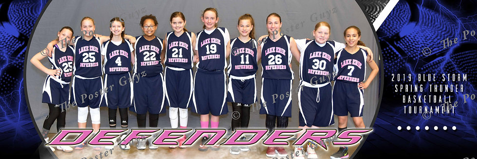 Lake Erie Defenders-White 6th Grade Girls