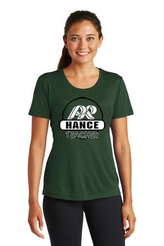 Hance-Women's Short Sleeve Dri Fit-Round Logo