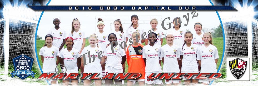 Maryland United FC 2006 ECNL (MD) Girls U13