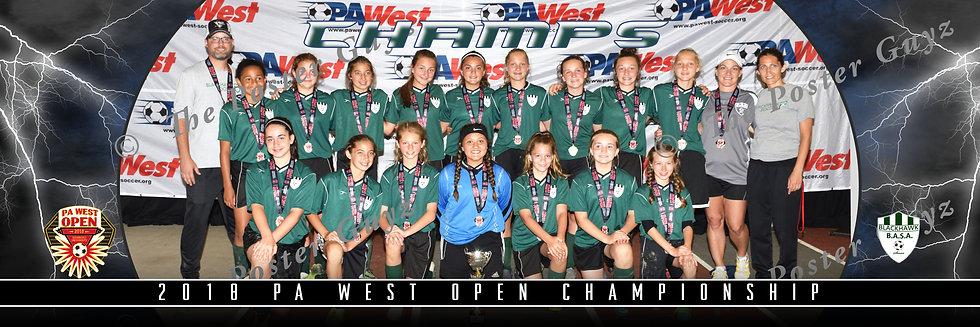 Blackhawk U14G Champions