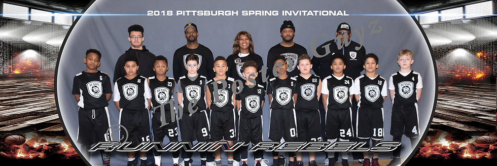 Runnin Rebels 4th Boys with Coaches
