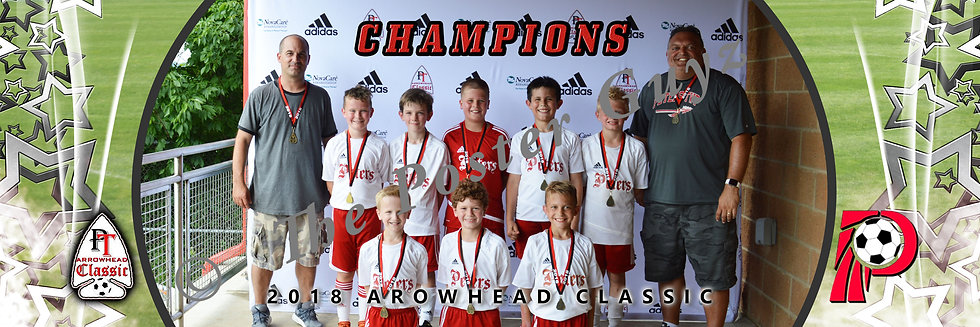 Peters U10 Boys Silver Division Champions
