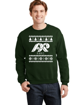 PRHS-Crewneck Sweatshirt-Ugly Sweater