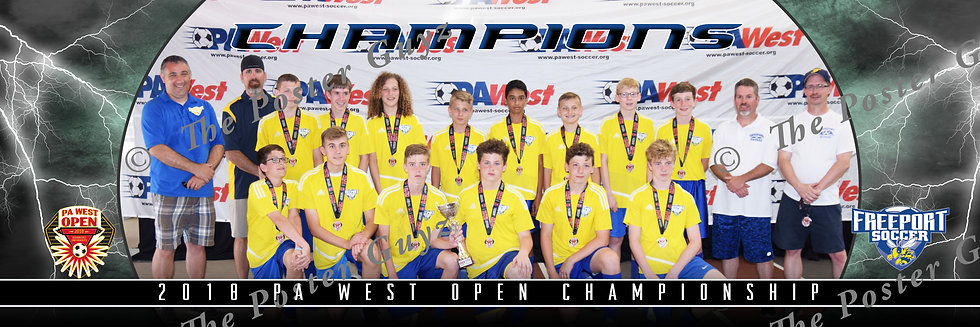 Freeport U14 Boys Champions
