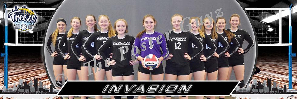 Invasion Black VBC 17-2