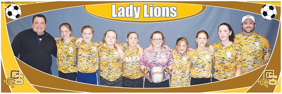 Lady Lions u14G