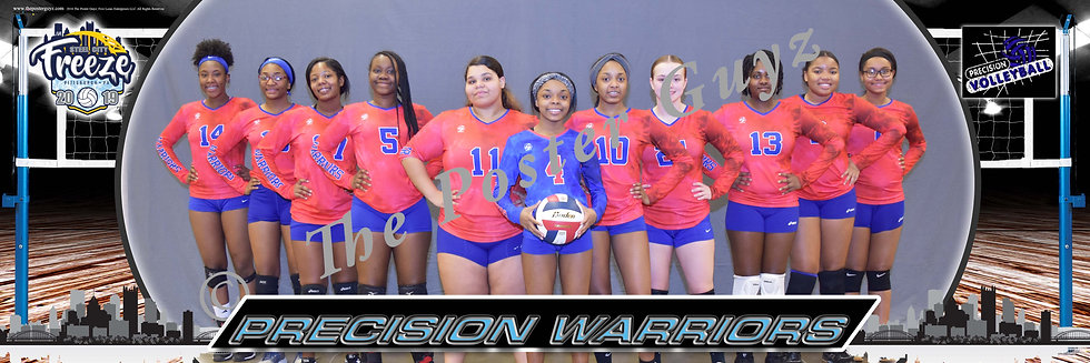 Precision Warriors 16s Smiling