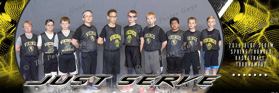 Just Serve Hoops-5th Boys