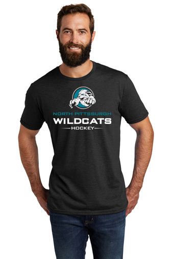 NP Wildcats-Allmade Recycled Short Sleeve Shirt-Wildcat Logo 2
