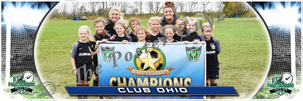 Club Ohio Girls Champions U9