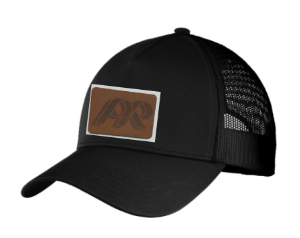 PRHS-Snapback Trucker Hat-Leather PR Design