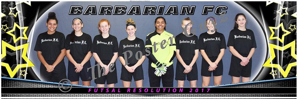 Barbarian FC HSG