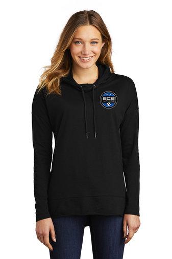 SCS-Women's Lightweight Hoodie-Left Chest Logo