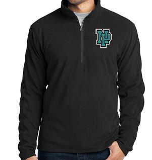 NP Wildcats-Men's Quarter Zip Fleece Jacket