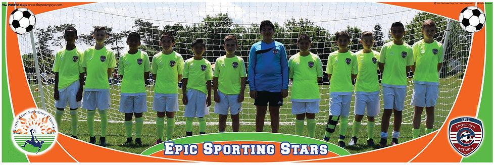 Epic Sporting Stars Yellow U12B