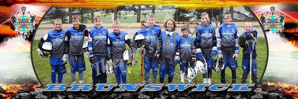 Brunswick Blue 3-4 boys D&C