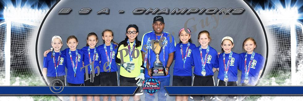 BSA u11G Championship with Trophy