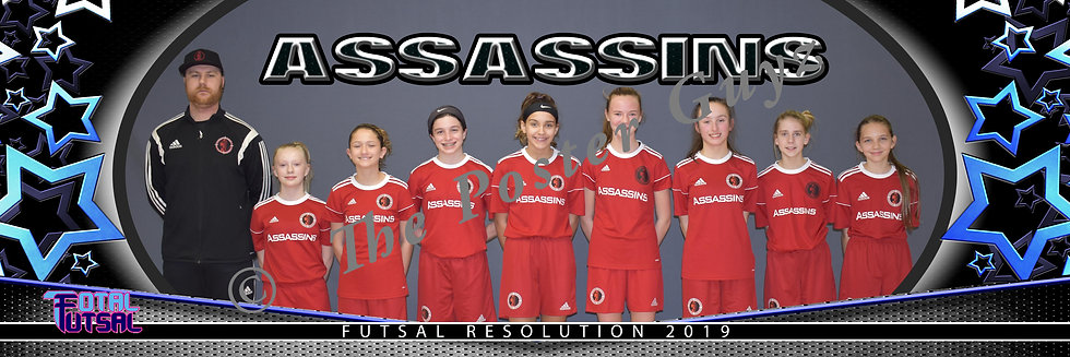 Assassins Futsal 06G Black U14G MLS