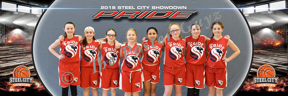 Pittsburgh Pride 5th Girls Red