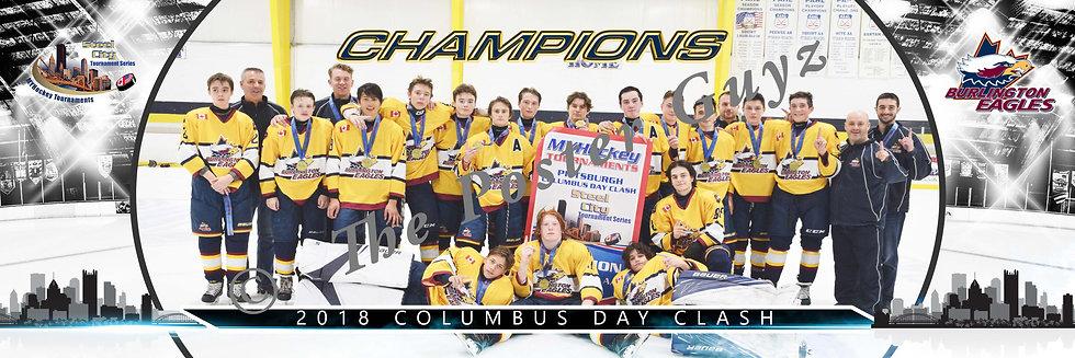 Burlington Eagles Midget Minor AA Champions