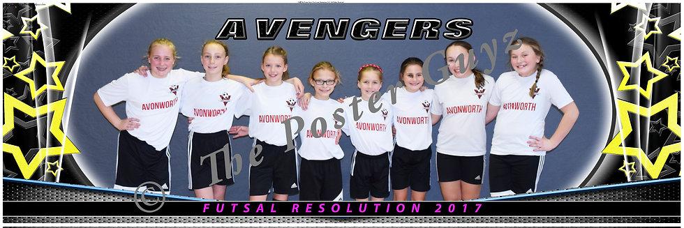 Avengers u12 G fronts