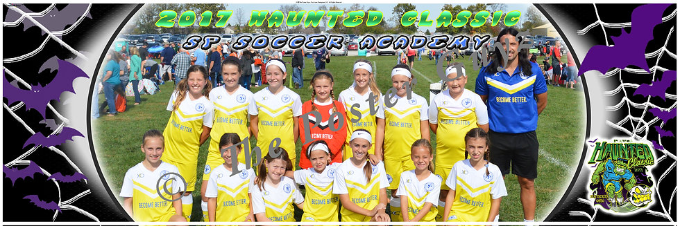 SP Soccer Academy U12 Girls Blue - G12