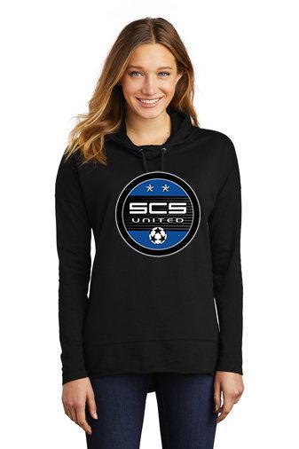 SCS-Women's Lightweight Hoodie-Round Logo