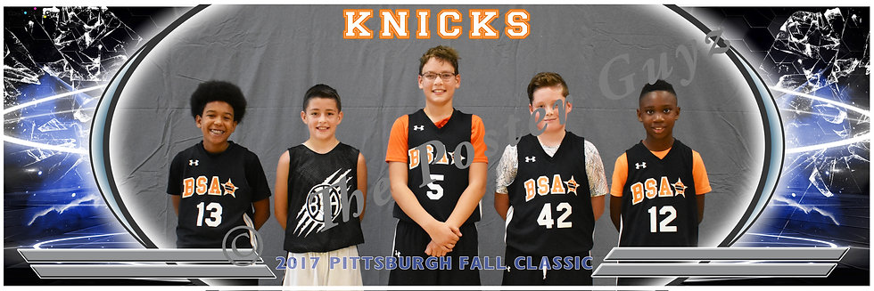 BSA Knicks Boys - Scorpion