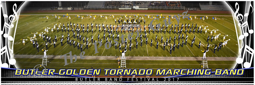 Butler Golden Tornado Marching Band version 1