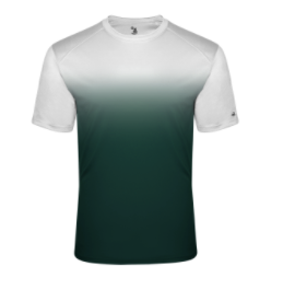 PRWexford-Badger Ombre Performance Short Sleeve