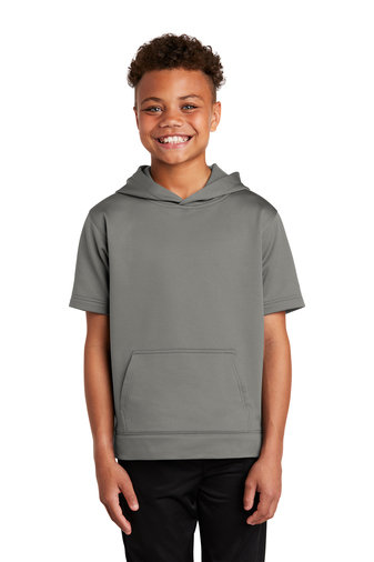 PREden-Youth Performance Short Sleeve Hoodie
