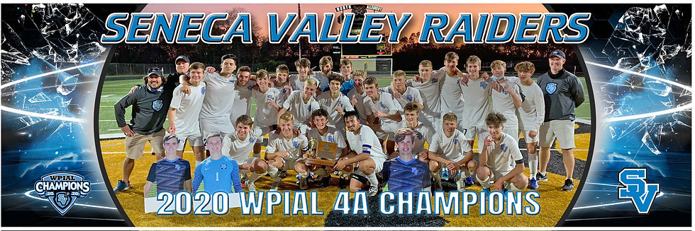 2020 SV Boys WPIAL Championship Team Poster