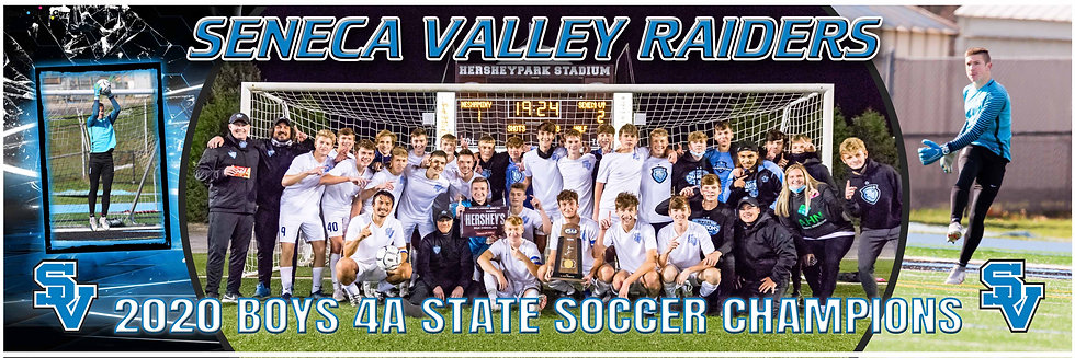 Custom 2020 SV Boys STATE Championship Team Poster