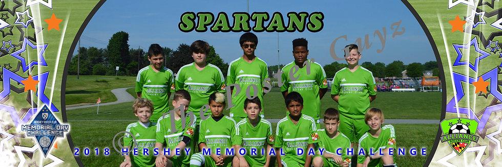 Alliance Spartans u13B