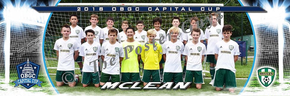 MCLEAN YOUTH SOCCER MCLEAN 05 BOYS GREEN U14