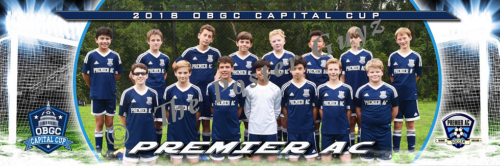 Premier Athletic PAC Elite 05 White Boys U14