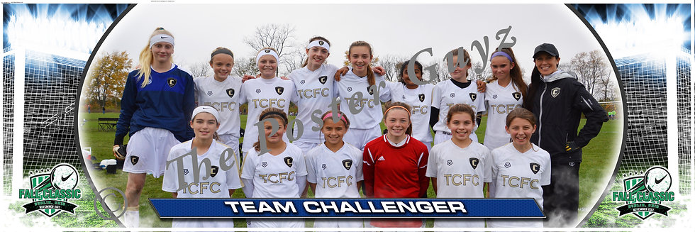 Team Challenger TCFC 04 black Girls U14