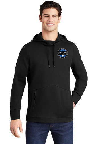 SCS-Men's Triumph Hoodie-Left Chest Logo
