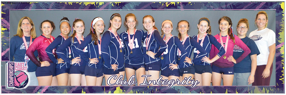 Club Integrity 14 With Gold Medals