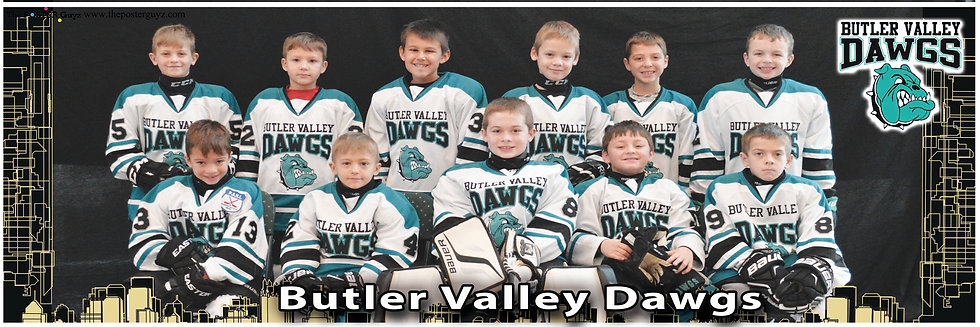 Butler Valley Dawgs Mator White